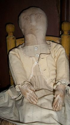 Addelyn Lee a Very Primitive Doll by countrypresence on Etsy