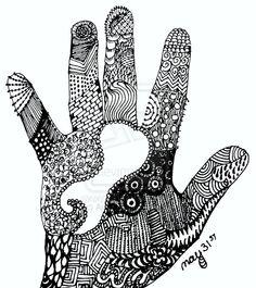 hand zendoodle by ~Ajinx on deviantART