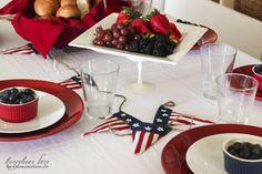 Americana Dinner Party - HoneyBear Lane