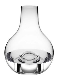 Nina Jobs has designed a mouth-blown carafe for wine or water, or to be used as a flower vase. The accompanying crystal ball can be used as a stopper, or can nestle at the bottom of the vase, adding a vibrant touch of colour. Room Of One's Own, Bottle Packaging, Crystal Ball, Shades Of Purple, Wine Decanter, Stockholm, Scandinavian Design, A Table, Barware