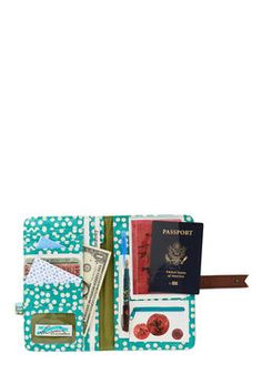 Girl Meets Voyage Travel Wallet, #ModCloth This is so cute!