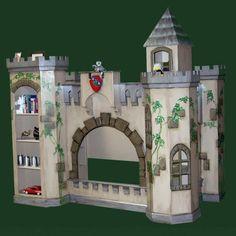 Lancelot Norwich Castle Bunk Bed and Playhouse for our li'l prince Rocco! :)