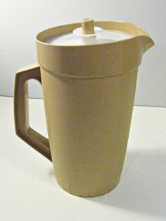 Tupperware pitcher // figures in large in my memory when I was a teen.
