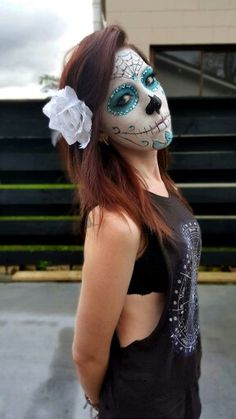 Sugar skull facepaint