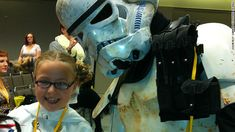 """Katie was bullied by kids at her school for liking Star Wars because it was """"just for boys.""""  After Katie's mom blogged about the bullying, thousands of fans flocked to support Katie and let her know it's awesome to be herself.  Definitely worth a read!"""