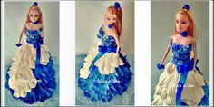 Artesanato e variedades  : Boneca Com Vestido de Eva