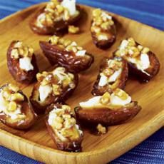 Maple Nut-Filled Dates