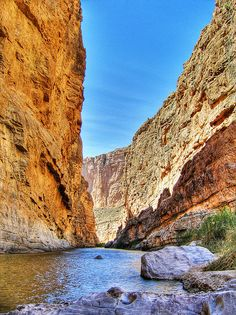 Santa Elena Canyon - Big Bend National Park - Texas, USA