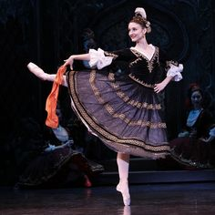The Australian Ballet's Olivia Bell in 'The Merry Widow'. Photo: Jeff Busby.