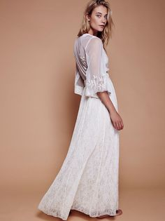 Eclair Lace Maxi Dress from Free People!