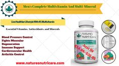 Get the essential nutrients and vitamins for a healthy body only from Nature's Nutri-Care. They are made from premium quality elements for men and women. Natural Fat Burning Supplements, Weight Loss Supplements, Herbal Weight Loss, Healthy Weight Loss, Best Multivitamin For Men, B6 B12, Fat Burning Pills, Blood Pressure Control, Multi Vitamin