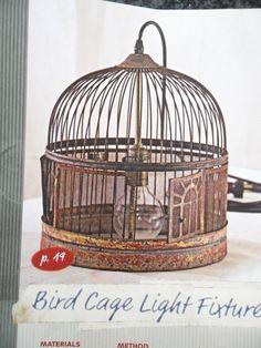 Bird Cage Light