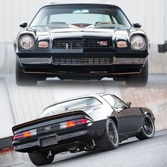 from The late Gen Camaros and Firebirds are making a comeback nowadays, and we love it! 1979 Camaro, Chevrolet Camaro 1970, Camaro Ss, 70s Muscle Cars, Custom Muscle Cars, Auto Body Work, Ford 4x4, Futuristic Cars, Chevy Trucks