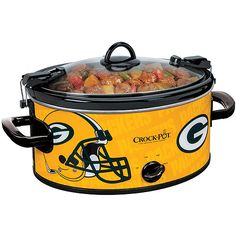Crock-Pot 6-Quart NFL Slow Cooker, Green Bay Packers: Appliances : Walmart.com