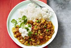 This Curried Beef & Potato Savoury Mince came out great; it makes a really quick and tasty weeknight dinner option! The fresh coriander really makes it though, so don't leave it out!