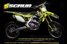 Who's ready for SCRUBz special new ACERBIS FLURO kits, plastics and graphics? Not only for Honda! info@scrubdesignz.com #motocross #dirtbike