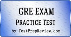 GRE Practice Test Questions
