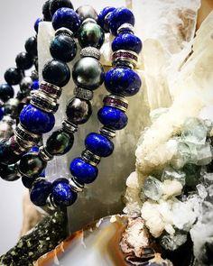 Beautiful Blues  Shop @lazarosoho  Visit us in SoHo NYC Online: http://bit.ly/1P22F4J #jewelry #designer #mensjewelry #mensfashion #bracelets #shopnyc #shopsoho #madeinnyc
