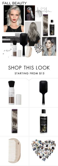 """Fall Beauty Hairstyles: Going Gray"" by sanfranfashion101 ❤ liked on Polyvore featuring beauty, Jonathan Product, GHD, Valery Joseph, Ouidad, HAY, hair, gray, 2015 and fall2015"