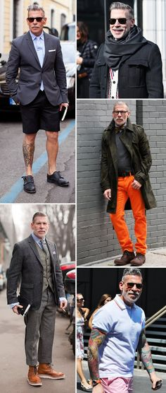 In my fake life, I befriended Nick Wooster while working at GQ as a junior fashion editor. It was my first job out of college and I strutted around like I really knew something about mens fashion. Nick took me under his wing and schooled me. I am forever grateful. Love this dude.
