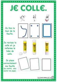 Des affichages pour que les élèves puissent visualiser ce que l'on attend d'eux.
