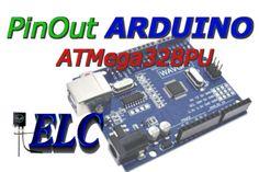 PinOut – ARDUINO Board – ATMega328PU Arduino Board, Circuits, Boards, Internet, Electronics, Planks, Consumer Electronics