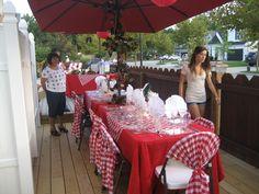 italian party decorations | Italian Theme Bridal Shower - Baxter's Creative Events
