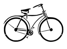 6/6 pochoir vélo vintage 1. par LoveStencil sur Etsy