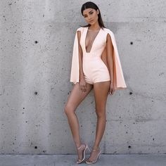 """ba672634661d House Of CB on Instagram  """"The Maren caped playsuit is to die for."""