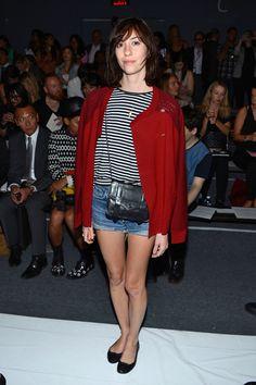 Gia Coppola, Rachel Zoe - Front Row - Spring 2013 Mercedes-Benz Fashion Week