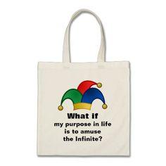Purpose in Life Tote Bag