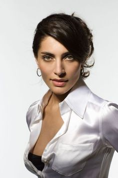 XXXL women satin silk blouse button White Satin Blouse, Satin Blouses, Beautiful Gorgeous, Gorgeous Women, Classy Women, Sexy Women, Secretary Outfits, Bond Girls, Brunette Beauty