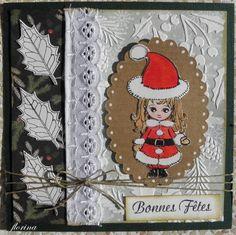 Noël, comment faire plaisir, des cartes de Noël - tampons la compagnie des elfes Tampons, Advent Calendar, Scrapbooking, Holiday Decor, Elves, Cards, Advent Calenders, Scrapbooks, Memory Books