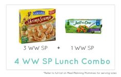 Weight Watcher Lunch Combo 29 - Meal Planning Mommies