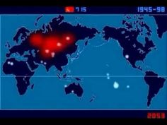 every nuclear explosion since 1945 excluding North Korea's. The video was put together by Japanese artist Isao Hashimoto and is a time-lapse...  http://www.natureknows.org/2013/12/an-artist-counted-every-atomic.html