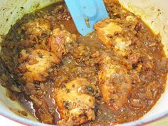 Bloatal Recall: Georgian Chicken in Pomegranate and Tamarind Sauce