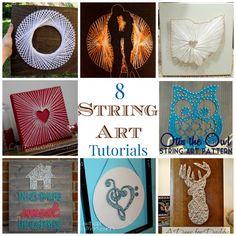 8 String Art Tutorials