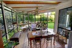 Glass enclosed deck in East Toowoomba Peter Snow & Co - Real Estate