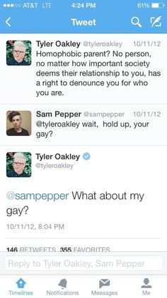tyler oakley tweets - Google Search