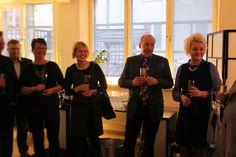 Johtajaklubi LuovaTuhon ensimmäisessä yritysjohtamisen cocktail-tilaisuudessa