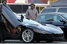 Will.I.Am decided to leave his Corvetteat home as he headed to the set to shoot his new music video in his shiny McLaren MP4-12C. Also amidst his collection is a Bentley Continental GT, Tesla and ...