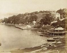 An image of #Balmain, Sydney by attrib. Beaufoy Merlin, American and Australasian Photographic Co, 1875. N.S.W History Balmain #NSW