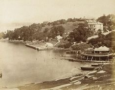 An image of #Balmain, Sydney by attrib. Beaufoy Merlin, American and…