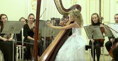 If you didn't watch this video with your eyes — but only listened with your ears — you'd never know it was being performed by a 9-year-old girl. When it comes to playing the harp, Alisa Sadikova is a child prodigy. She took the stage on December 12, 2012 at the XIII International Winter Festival at the... View Article