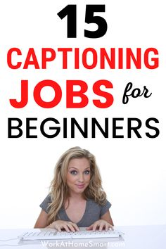 Looking for the best closed captioning jobs to make extra money? If yes, be sure to check out this list of remote captioning jobs for beginners and pros. Typing Jobs From Home, Online Typing Jobs, Work From Home Jobs, Captioning Jobs, Reading For Beginners, Close Caption, Extra Money, Remote, Check