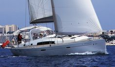 #Beneteau Oceanis 50, 4 double ensuite cabins, fully crewed and catered available in French and Italian Med. www.essentialsailing.com