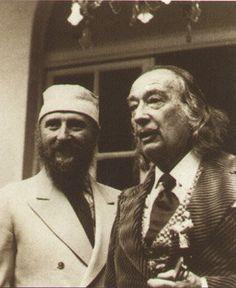 Dali and Ernst Fuchs