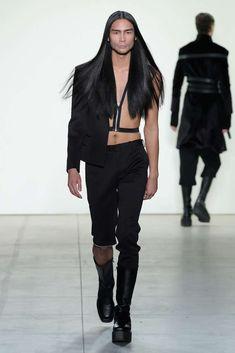 Hakan Akkaya Fall-Winter 2017 - New York Fashion Week - Male Fashion Trends