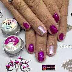 Such a beautiful colour. It's been a hit at this From the Bio Gel Nails, G Nails, Hair And Nails, Bio Sculpture Gel Nails Summer, Bio Sculpture Nails, Sculptured Nails, Funky Nails, Summer Nails, Nail Care