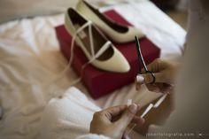Sapatos da noiva - Bride's shoes